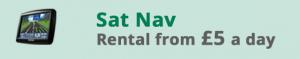 Fleetway car and van rental Gloucester Sat Nav rental
