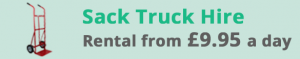 Fleetway car and van rental Gloucester Sack Truck rental