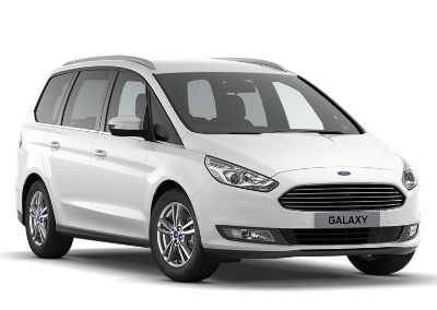 Ford Galaxy 7 Seater People Carrier : Fleetway Rentals